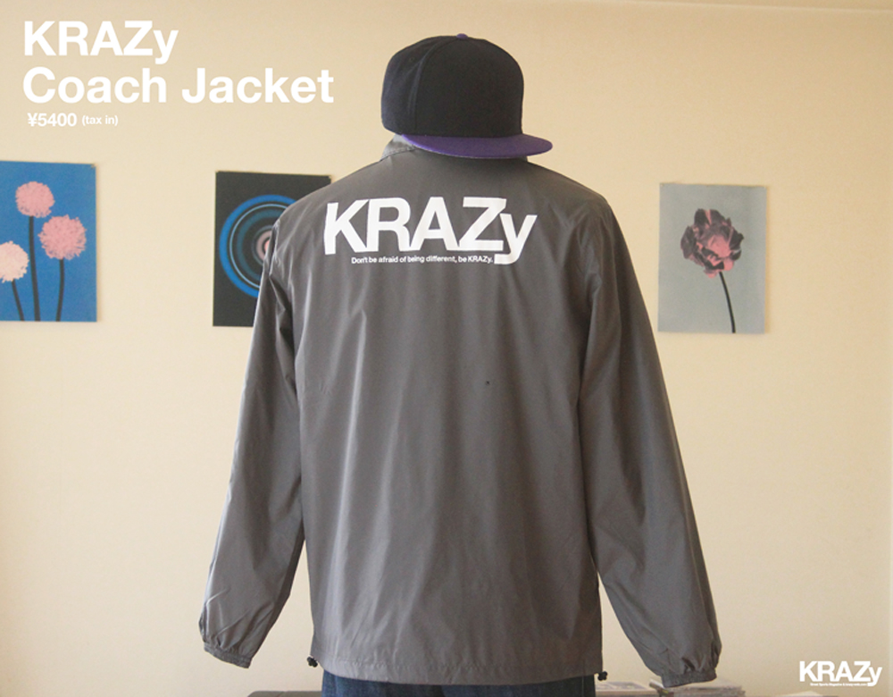 KRAZy Coach Jacket最終_前