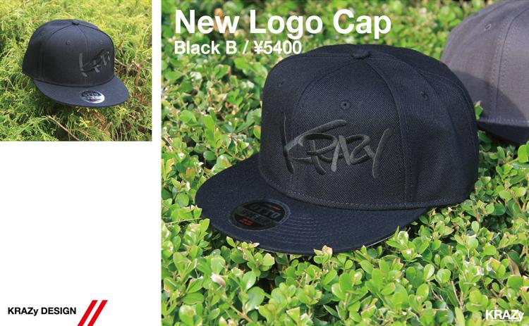 NewLogoCap_BlackBlack¥5400