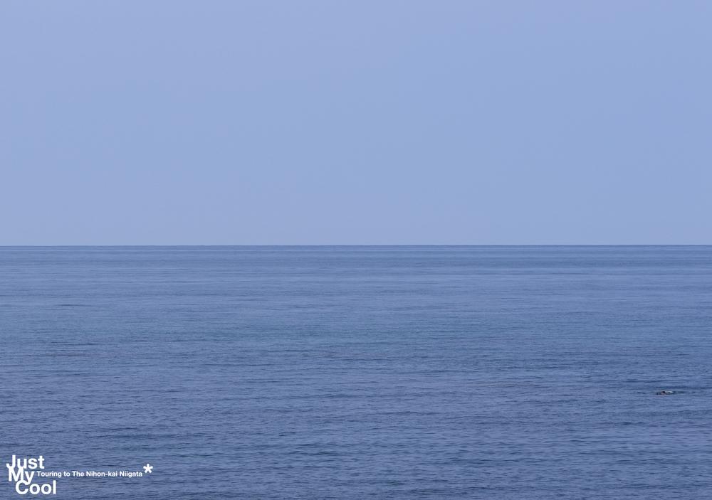 白い砂と青い海