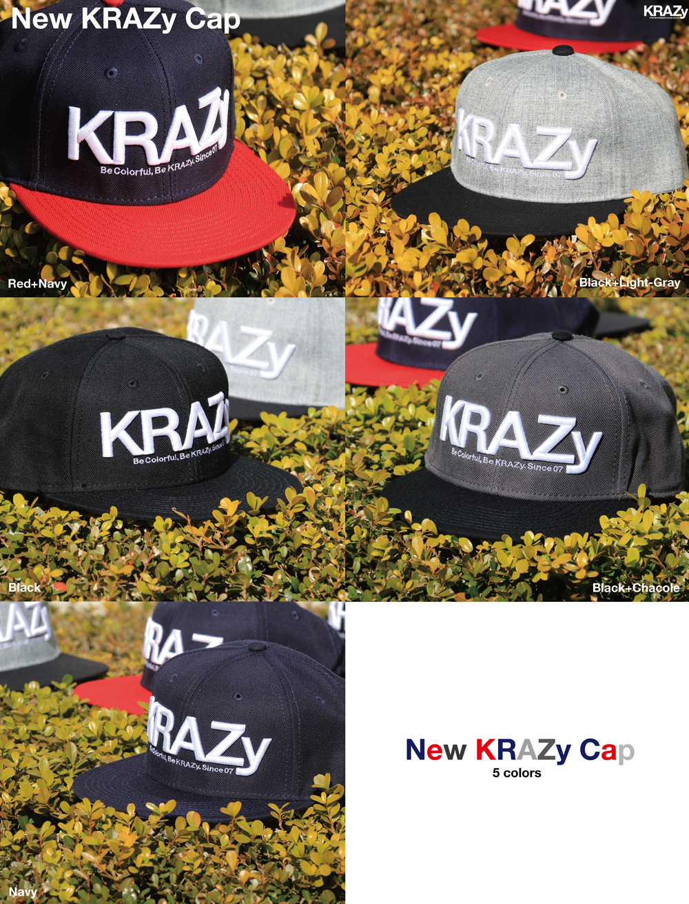 New_KRZ_Cap各色
