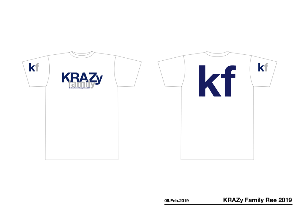 KRAZyFamilyTee2019