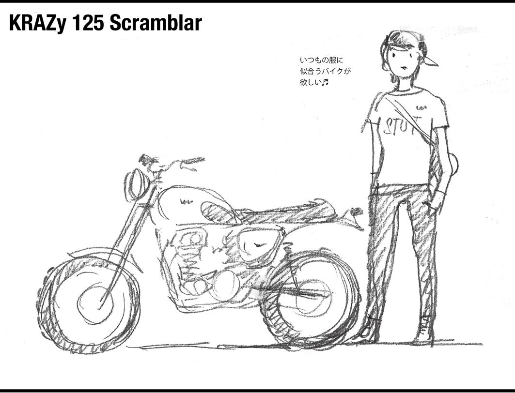 125スクランブラー