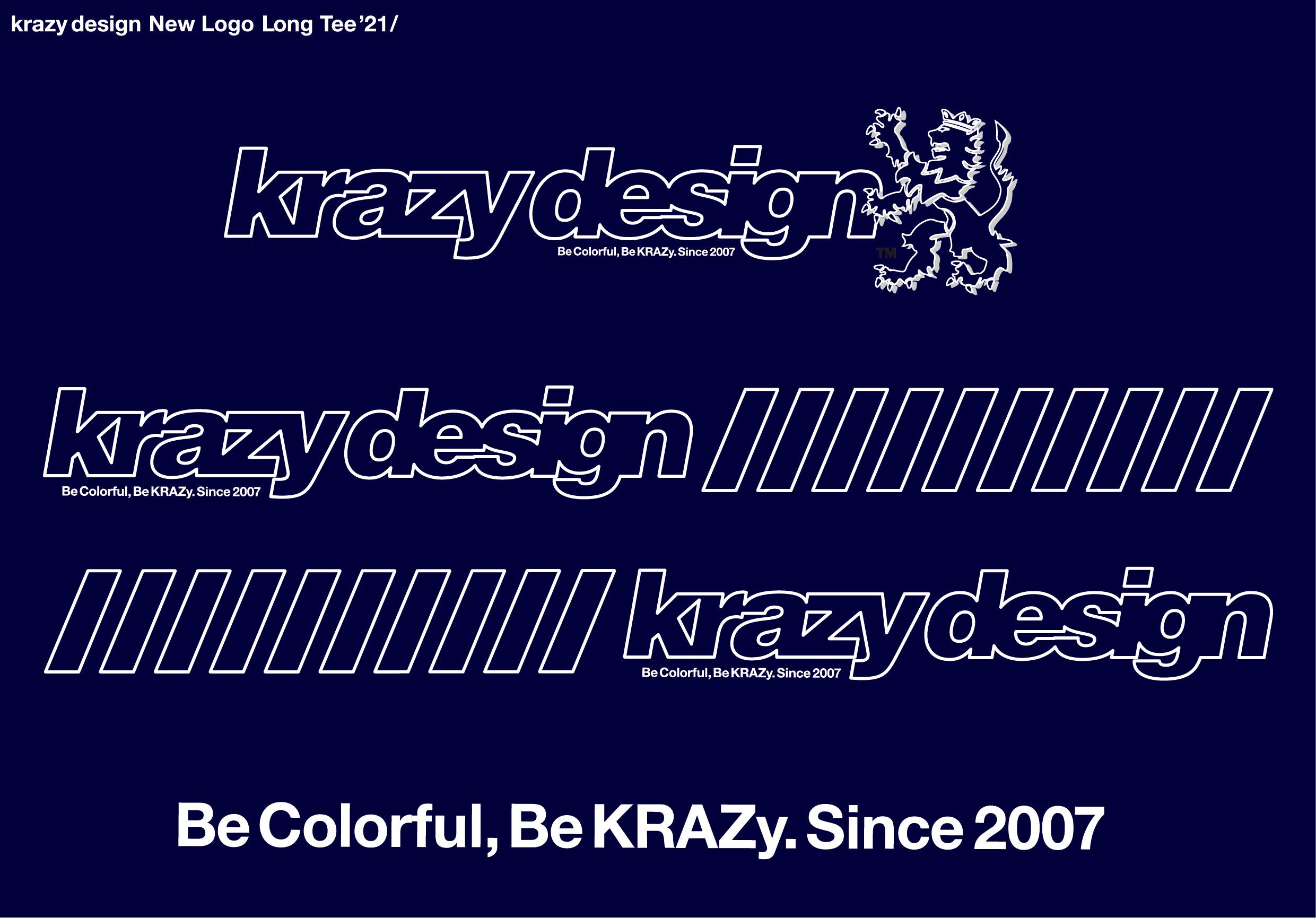 krazy design ロンTee 2021 見え方