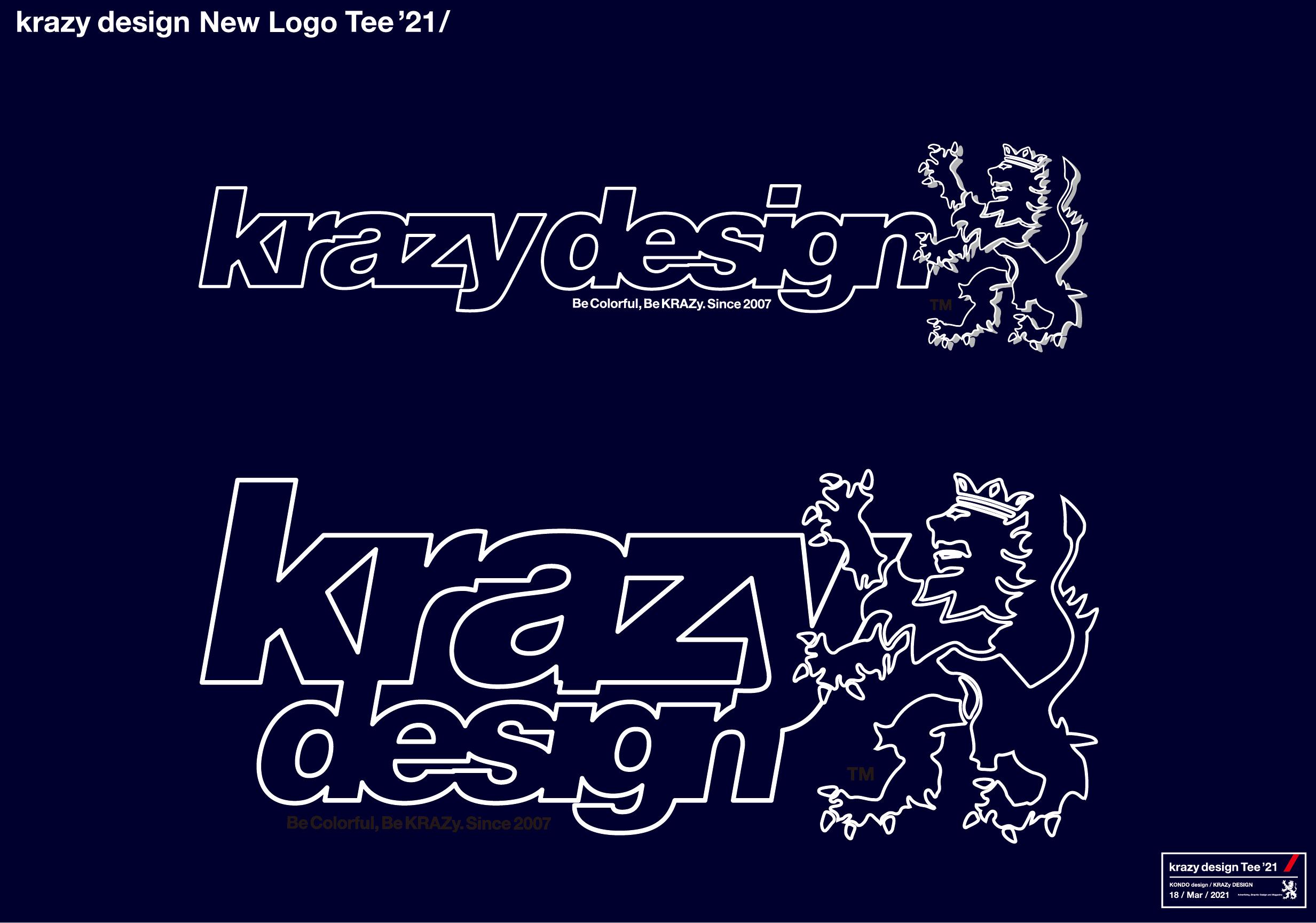 krazy design Tee 2021 miekata