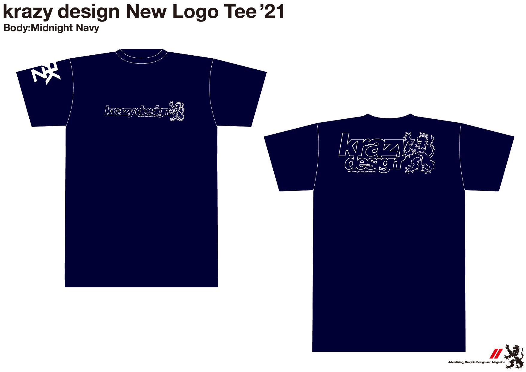 krazy design Tee 2021